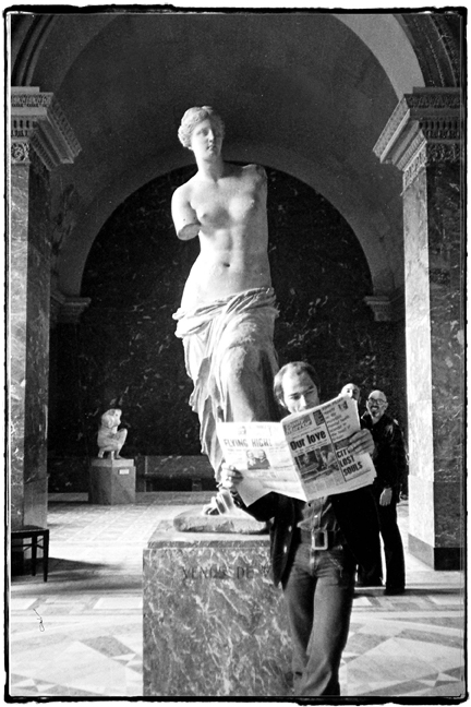 Pete Jonfield with Venus De Milo