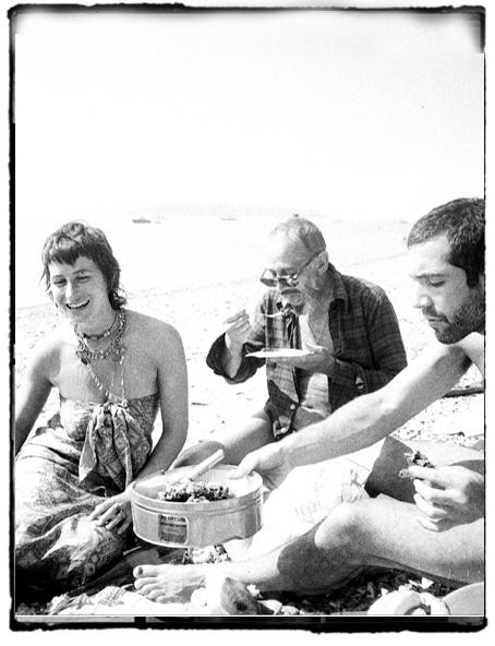 Rowen, Olly, Emil in paradise